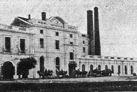 The factory of Fix, 1905, Photo: https://commons.wikimedia.org/wiki/File:Ergostasio_Fix.JPG