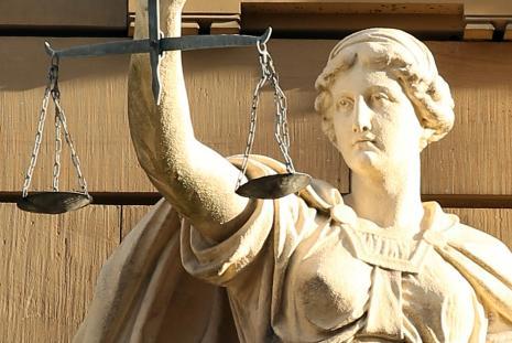 Justice, photo: Hermann Traub