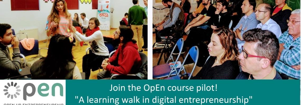 Open-up entrepreneurship: Ένας μαθησιακός περίπατος στην ψηφιακή επιχειρηματικότητα!